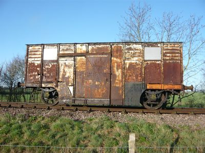 London, Tilbury & Southend Rly. Vacuum Cleaning Van No.1857 the sole remaining example of an LT&SR carriage or wagon