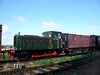 99)-Army_226_(Drewry, 1945)_and_LNER_Ballast_Brake_Van